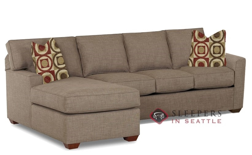 Quick-Ship Palo Alto Chaise Sectional Fabric Sofa by Savvy | Fast Shipping  Palo Alto Chaise Sectional Sofa Bed | SleepersInSeattle.com