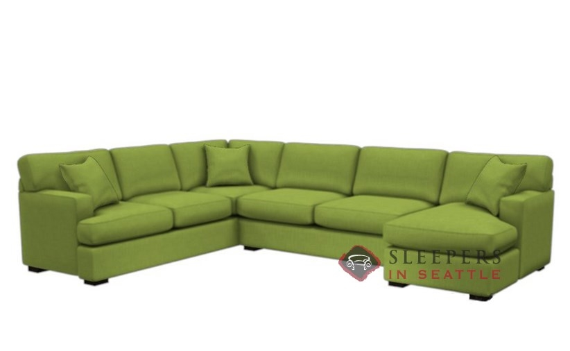 146 True Sectional Fabric Sofa