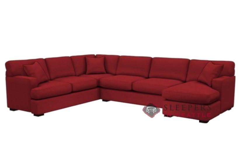The Stanton 146 U-Shape Sectional Queen Sleeper Sofa