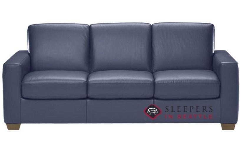 Quick-Ship Rubicon (B534) Queen Leather Sofa by Natuzzi ...