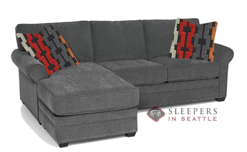 Quick-Ship 283 Chaise Sectional Fabric Sofa by Stanton | Fast Shipping 283  Chaise Sectional Sofa Bed | SleepersInSeattle.com