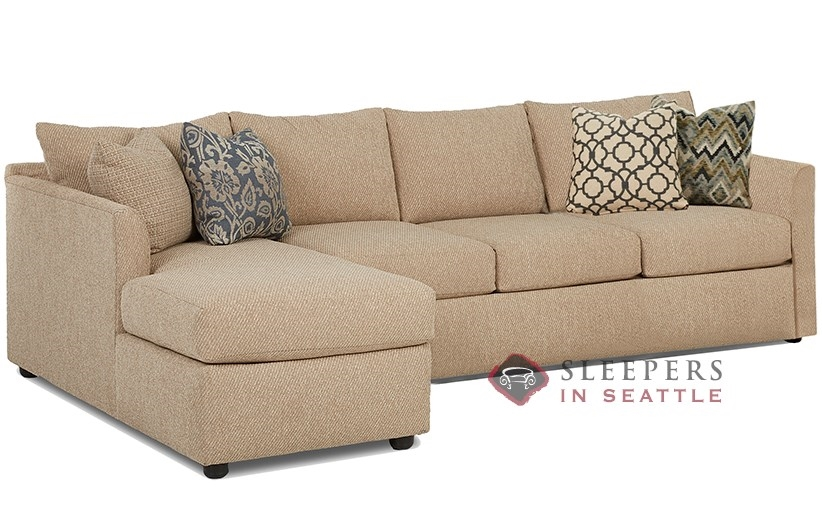 Savvy Aventura Chaise Sectional Sleeper (Queen)  sc 1 st  Sleepers In Seattle : queen sleeper sofa sectional - Sectionals, Sofas & Couches