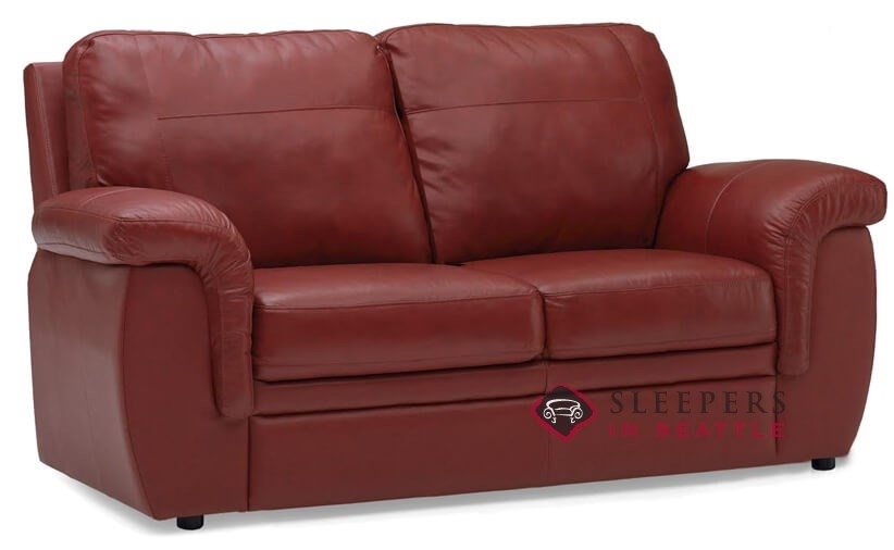 Palliser Brunswick Top-Grain Leather Full Sleeper Sofa
