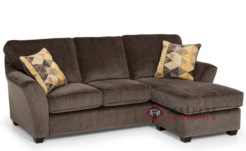 Stanton 112 Chaise Sectional Queen Sleeper Sofa