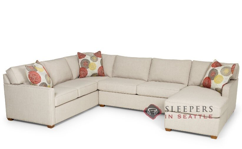 Stanton 287 U Shape True Sectional Sleeper Sofa (Queen)