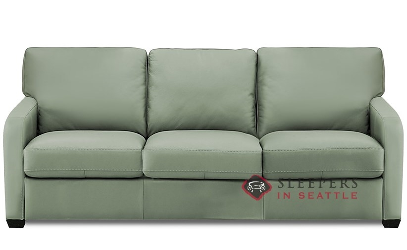 Customize and Personalize Westside Queen Leather Sofa by Palliser