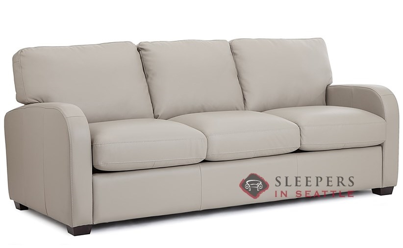 Customize And Personalize Westside Queen Leather Sofa By