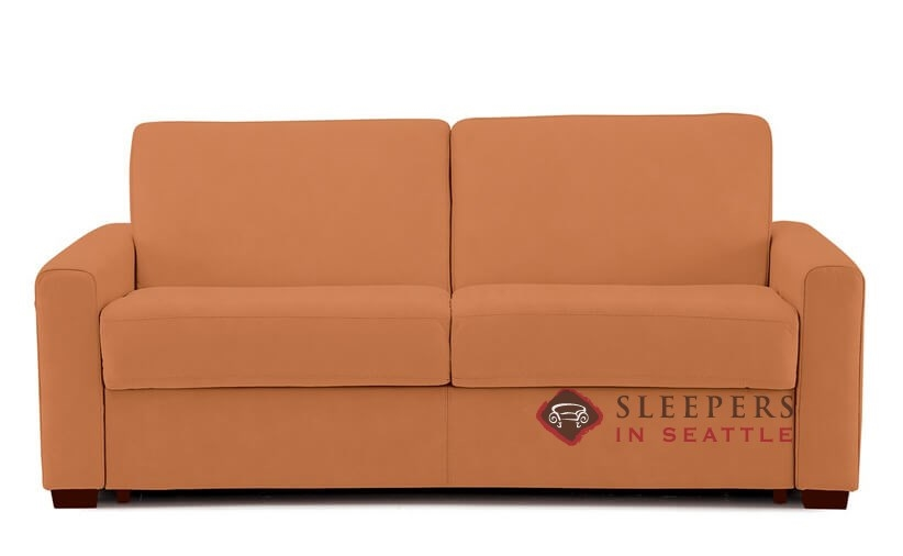 Customize And Personalize Roommate Full Fabric Sofa By Palliser