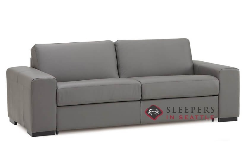 Customize and Personalize Weekender Queen Leather Sofa by Palliser