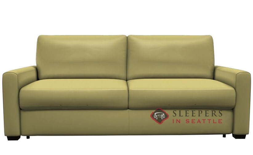 Palliser Roommate My Comfort 2 Seat Leather Sleeper Sofa (Queen)