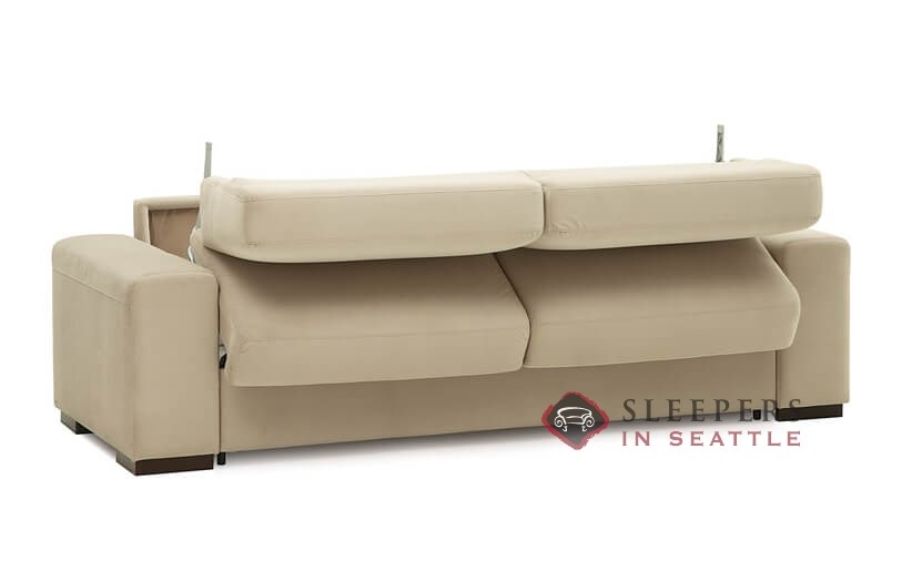 ... Palliser Weekender My Comfort 2 Cushion Sleeper Sofa Opening ...
