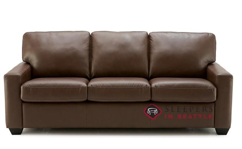 Palliser Westend Leather Queen Sleeper Sofa