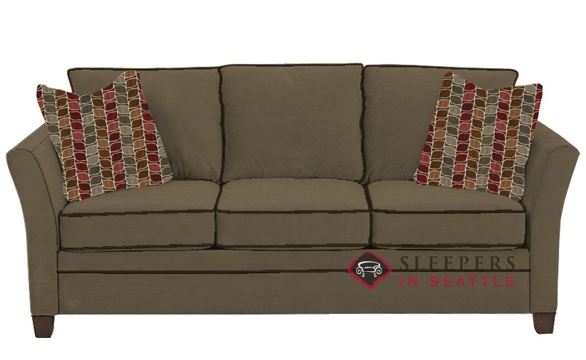Quick Ship Murano Queen Fabric Sofa by Savvy