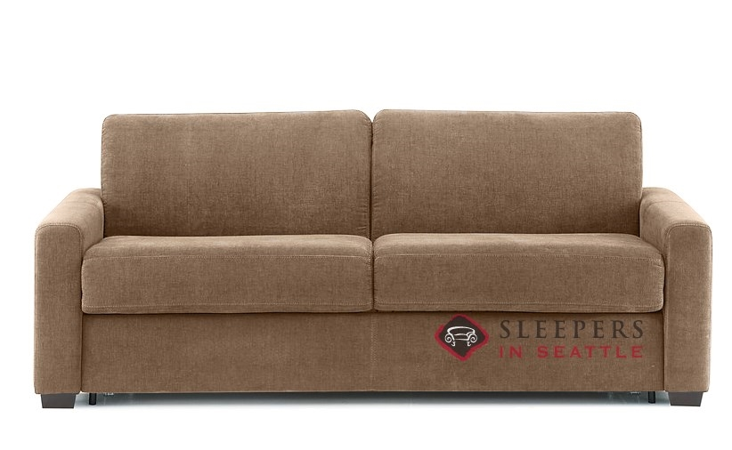 Quick Ship Roommate Queen Fabric Sofa by Palliser