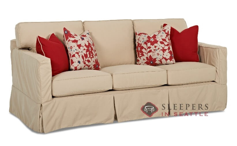 Customize and personalize jersey queen fabric sofa by for Sectional sleeper sofa nj