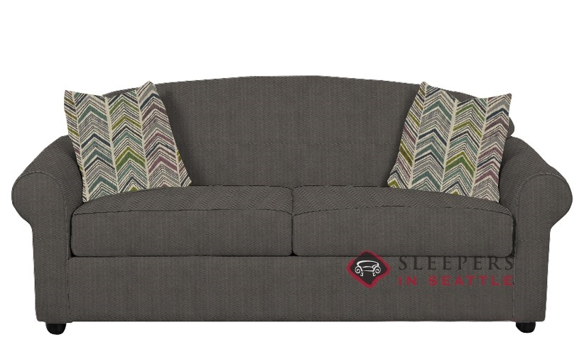 Savvy Chicago Sleeper In Farris Charcoal Full