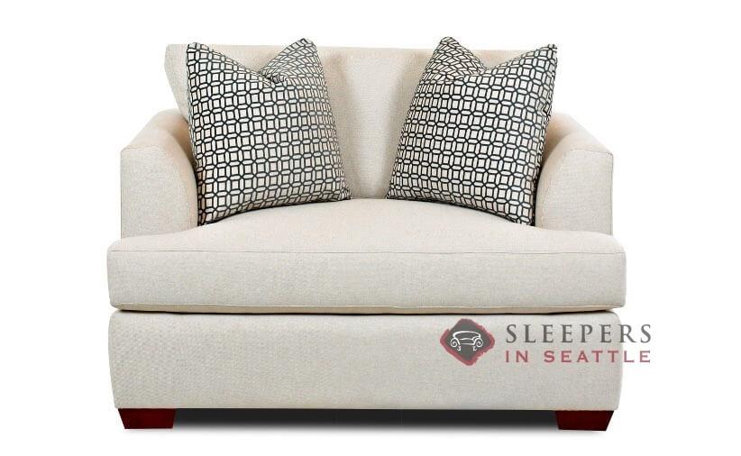 Berkeley Chair Fabric Sofa, Down Feather Sleeper Sofa