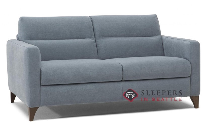 Merveilleux Natuzzi Editions Caffaro Leather Sleeper Sofa (Full) (C008 264)
