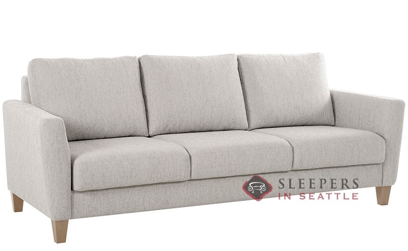 Quick Ship Uni By Luonto Full Fabric Sofa By Luonto Fast