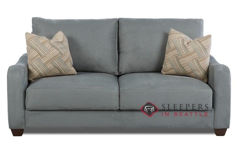 Savvy Toronto Queen Sleeper Sofa In Geo Surf