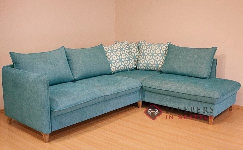 customize and personalize flipper by luonto chaise sectional fabric sofa by luonto