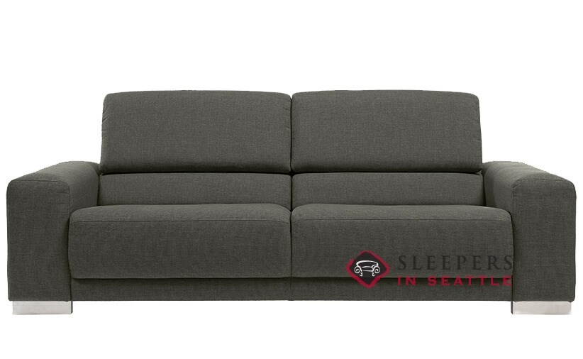 quick ship copenhagen by luonto queen fabric sofa by