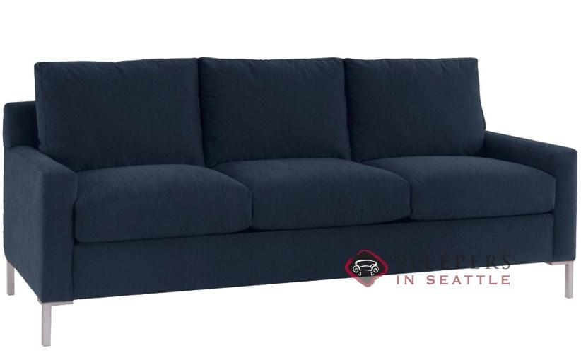 Delicieux Lazar Soho 3 Cushion Sleeper In Inga Navy (Queen)
