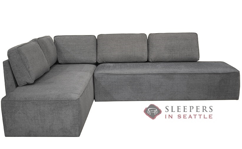 Luonto New York Raf Chaise Sectional Sleeper Sofa With Storage Queen In Naomi 213