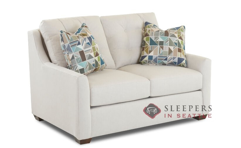 Customize And Personalize Green Bay Twin Fabric Sofa By