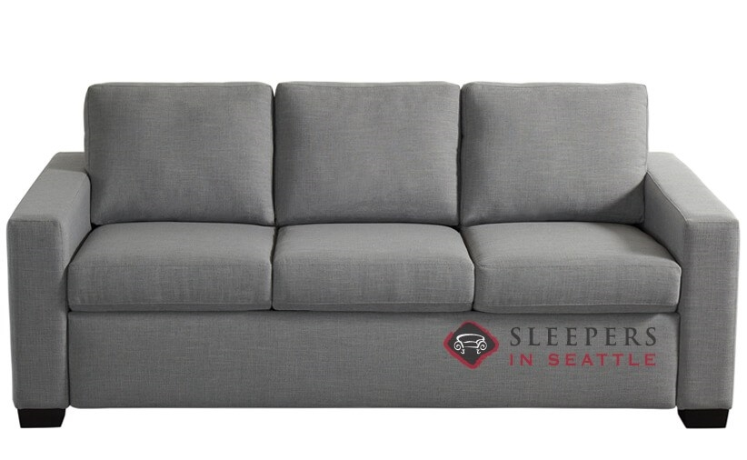 custom the sofa simple by comfort leather sleeper american