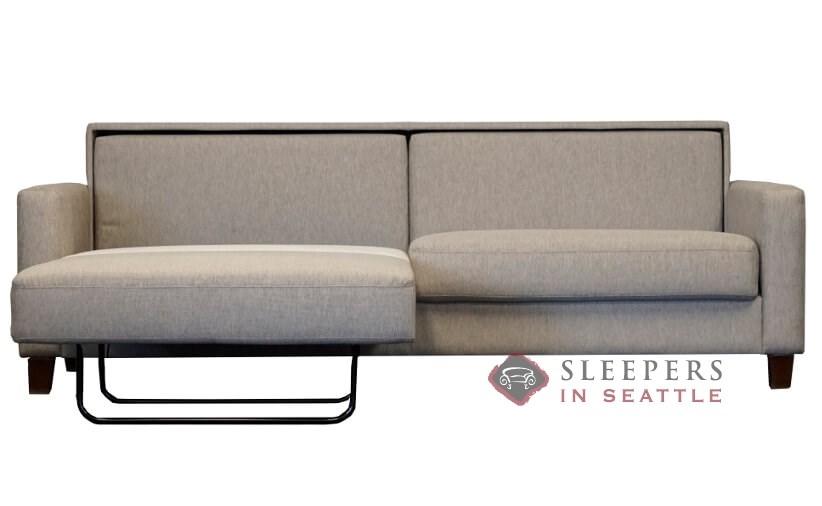 Luonto Nico King Sleeper Sofa In Louole 616 Opening