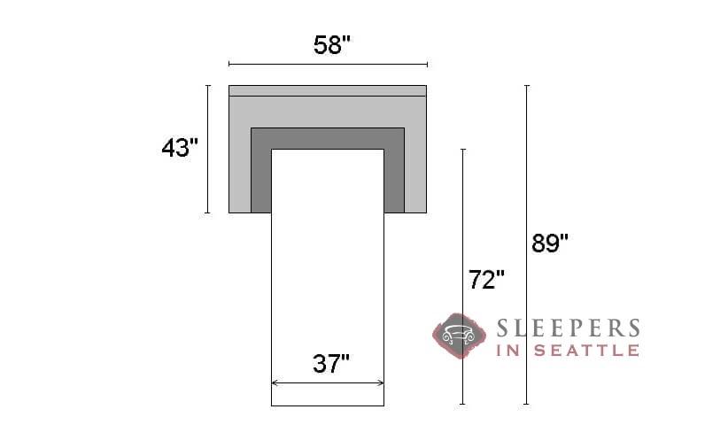 Astounding The Stanton 681 Twin Sleeper Sofa Download Free Architecture Designs Intelgarnamadebymaigaardcom
