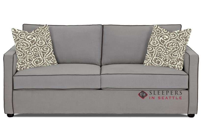 Charmant Savvy Portland Sleeper Sofa In Brookside Grey