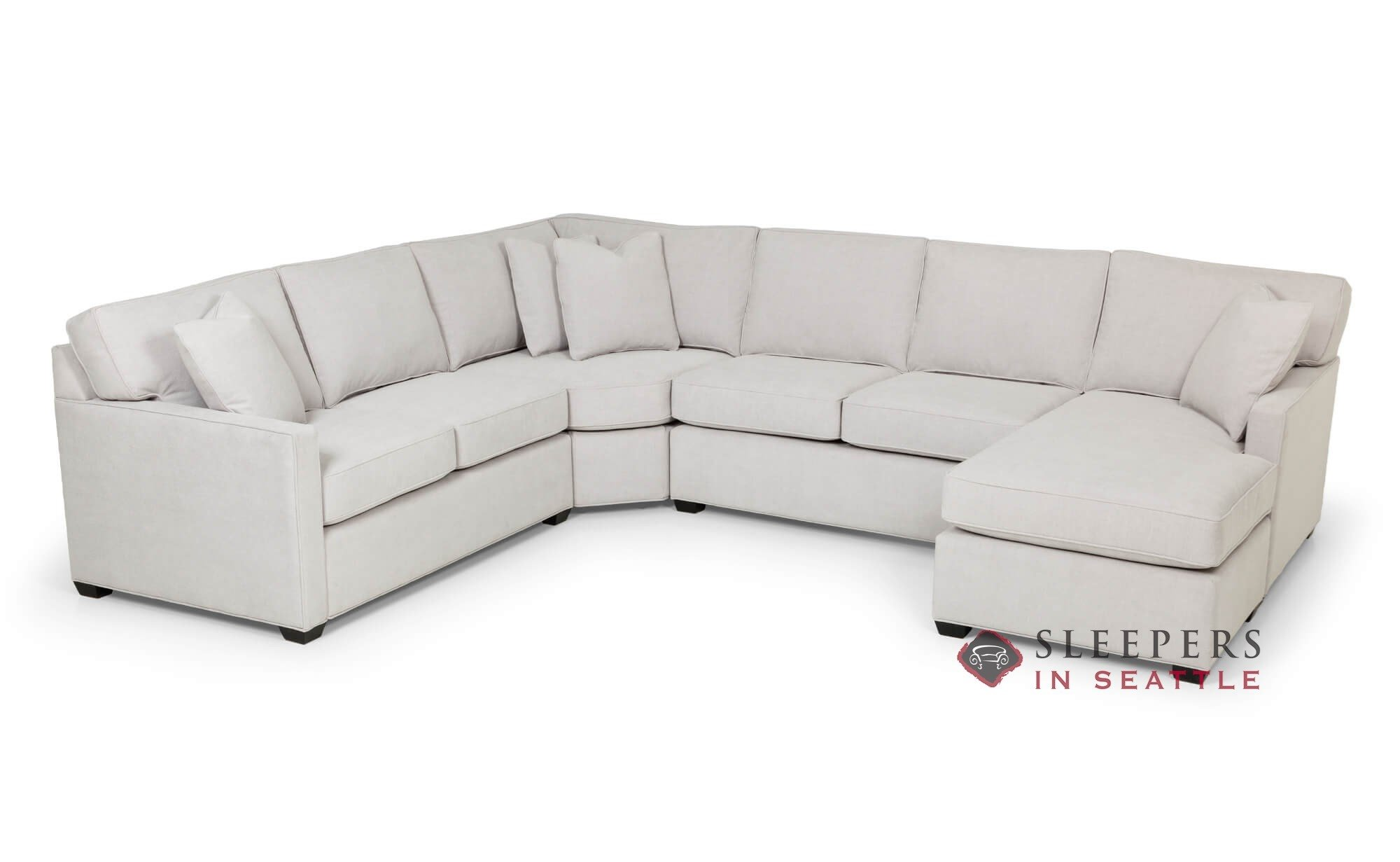 Stanton 387 U Shape True Sectional Queen Sleeper Sofa