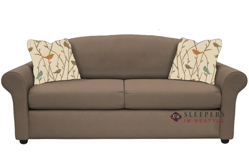 Savvy Chicago Full Sleeper Sofa In Geo Kangaroo