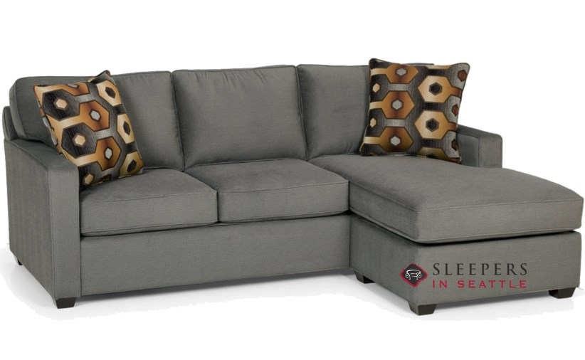 Quick-Ship 403 Chaise Sectional Fabric Sofa by Stanton | Fast Shipping 403  Chaise Sectional Sofa Bed | SleepersInSeattle.com