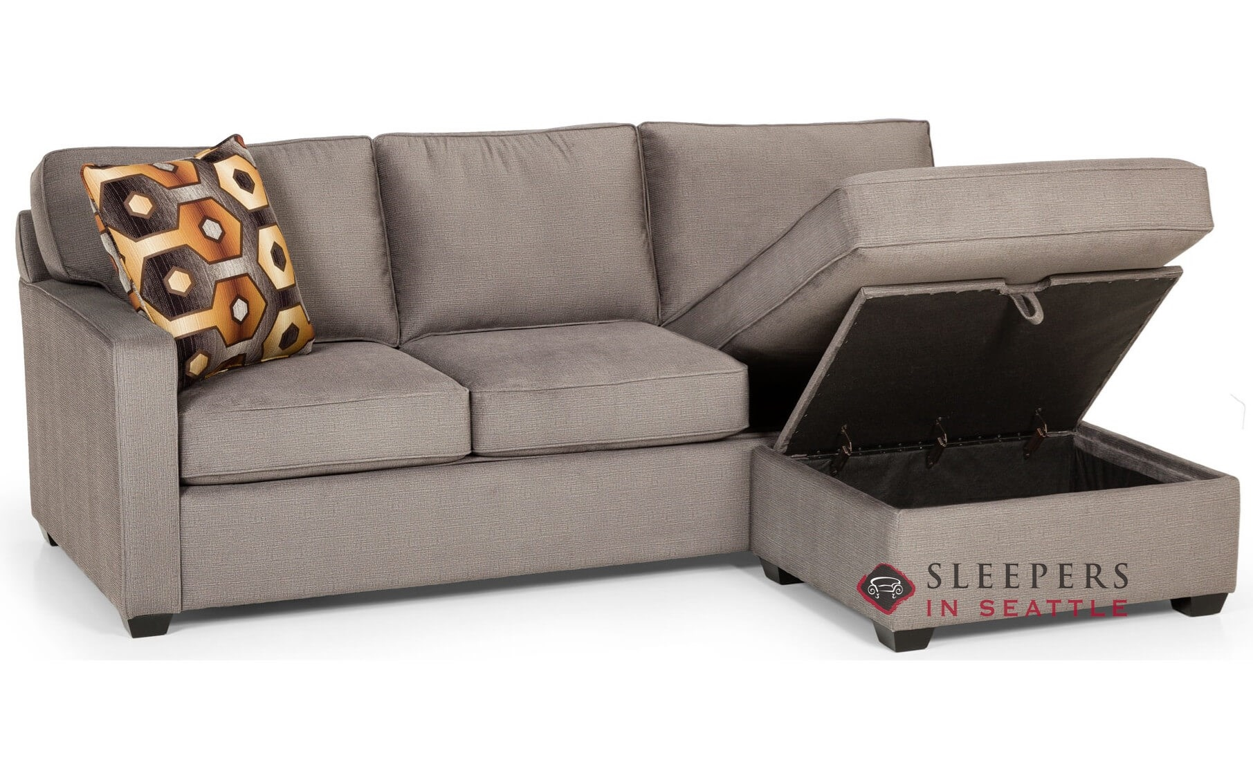 Quick Ship 403 Chaise Sectional Fabric Sofa By Stanton Fast Shipping Bed Sleepersinseattle