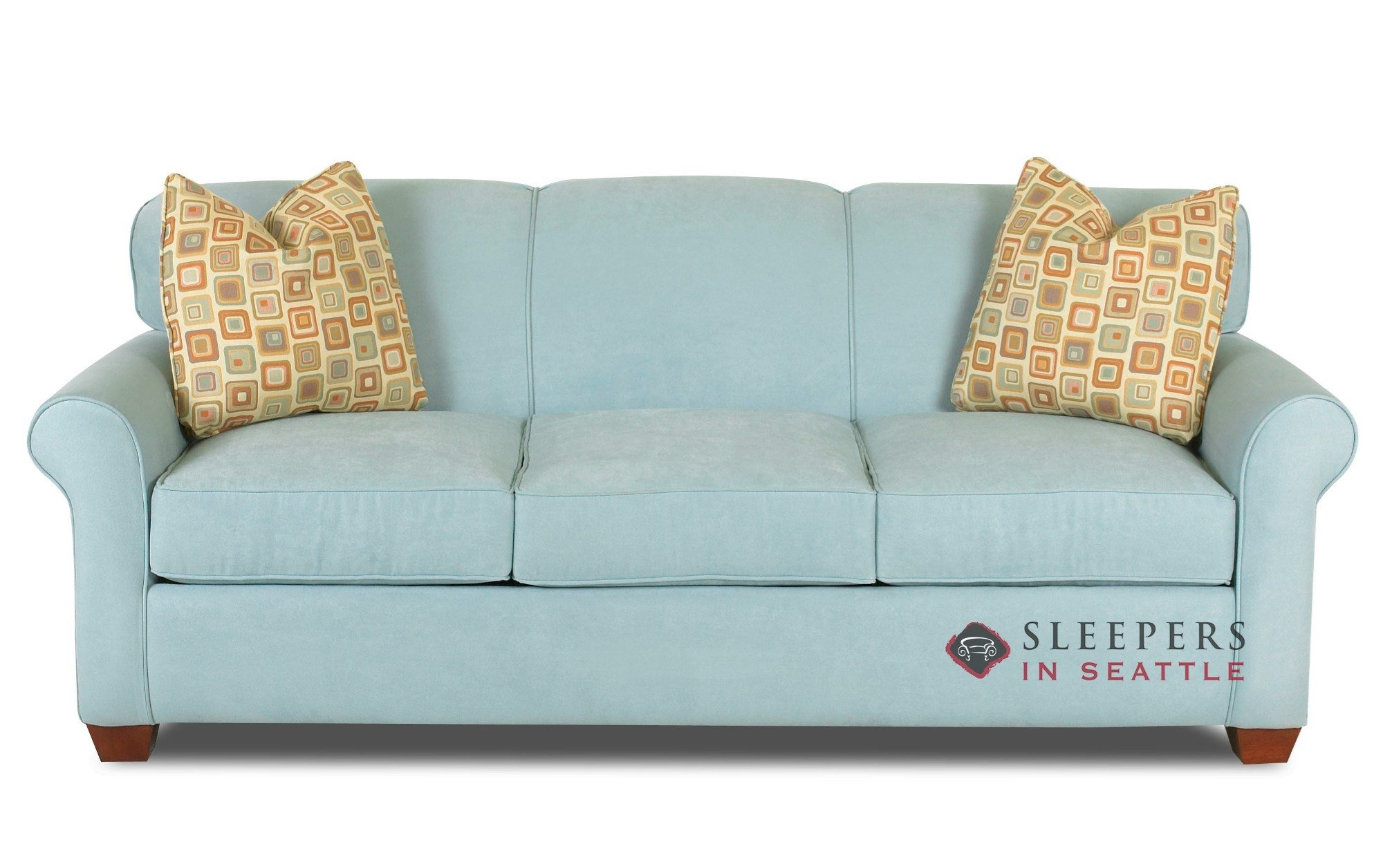 Customize And Personalize Calgary Queen Fabric Sofa By