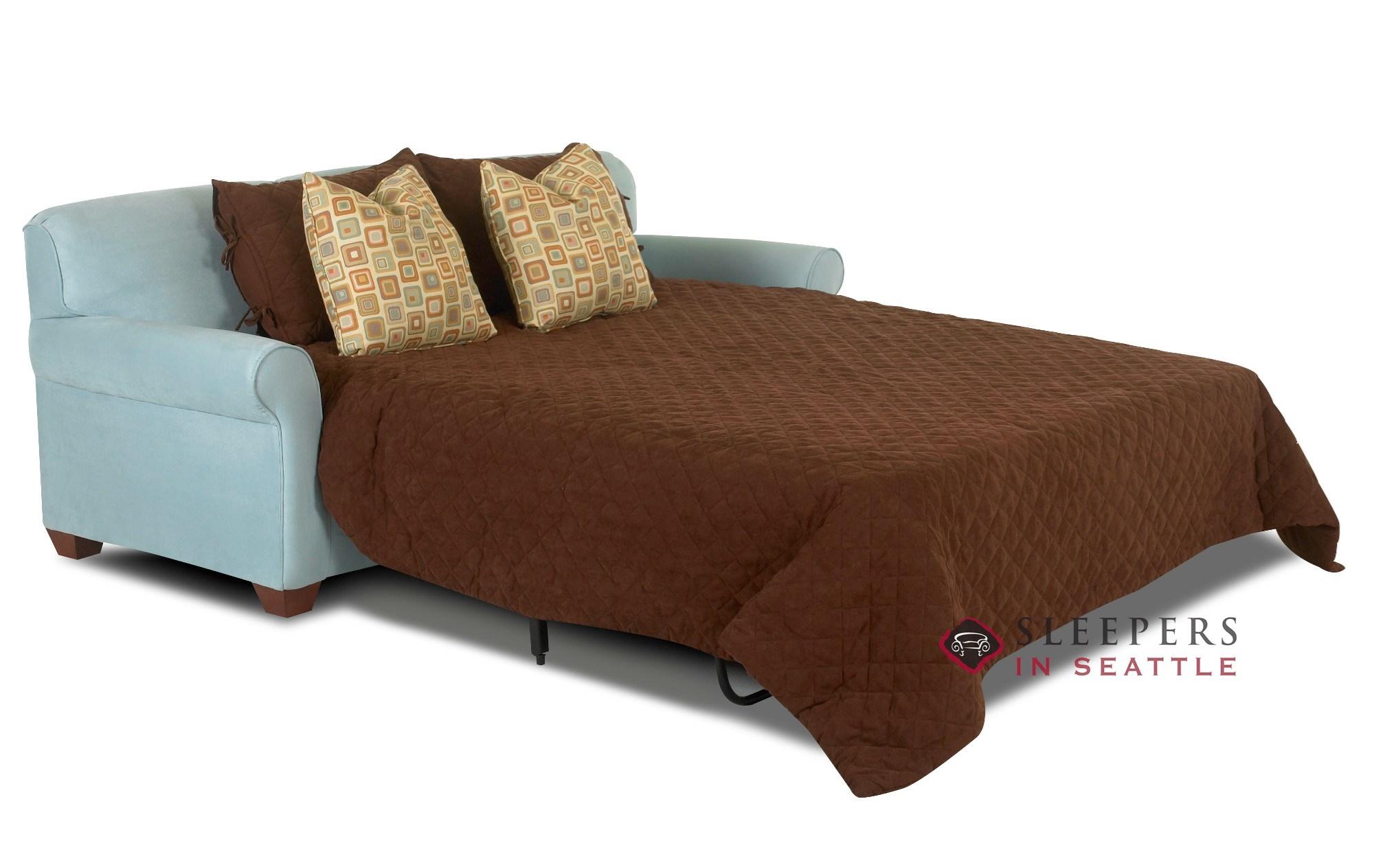Savvy Calgary Queen Sleeper Sofa
