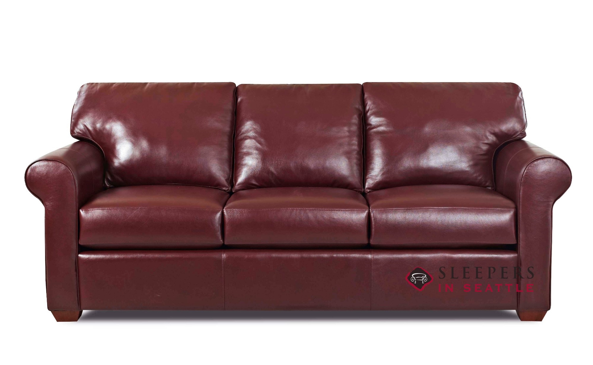 Savvy Cancun Leather Queen Sleeper Sofa