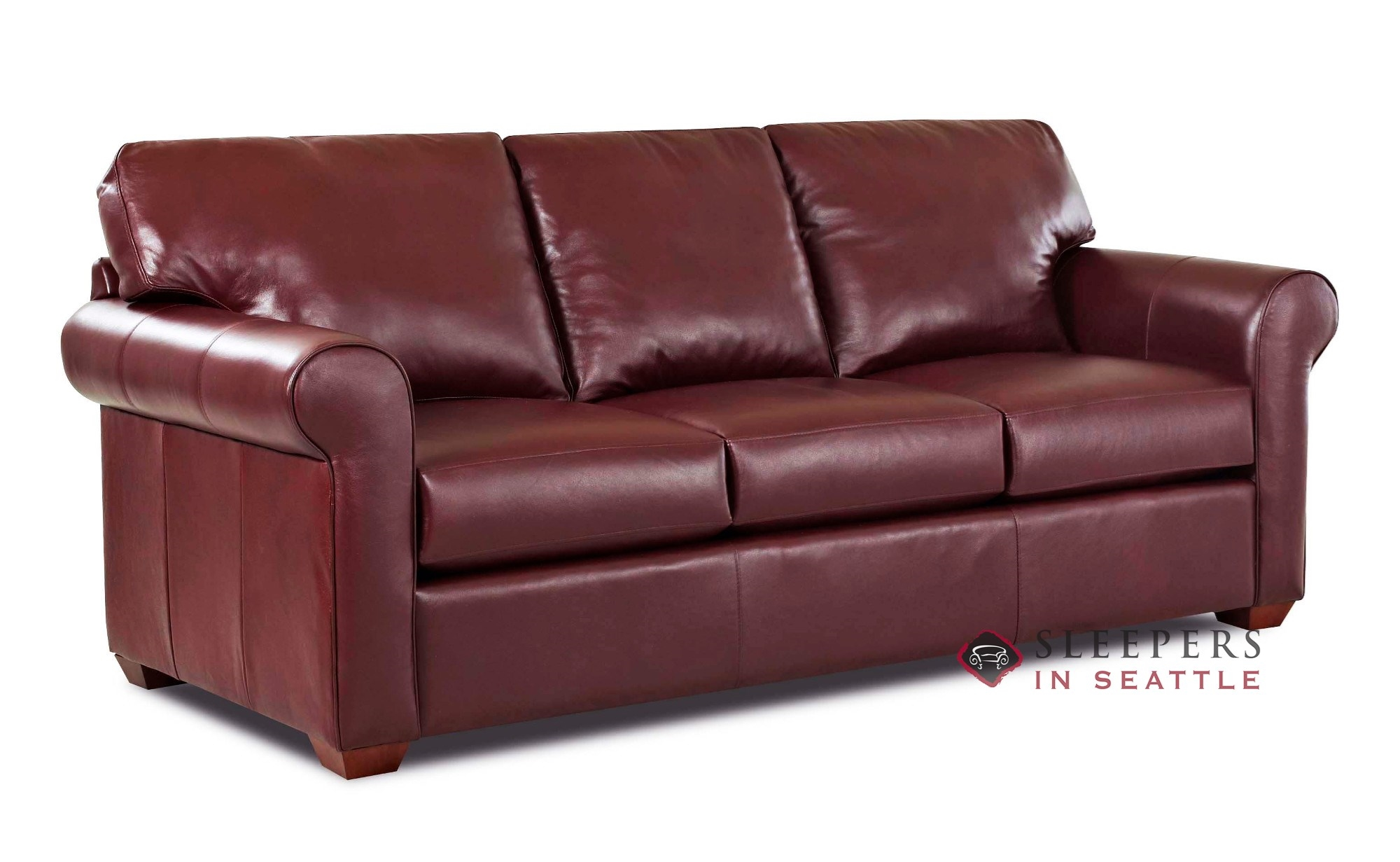 Customize And Personalize Cancun Queen Leather Sofa By Savvy  ~ Leather Sleeper Sofa Queen