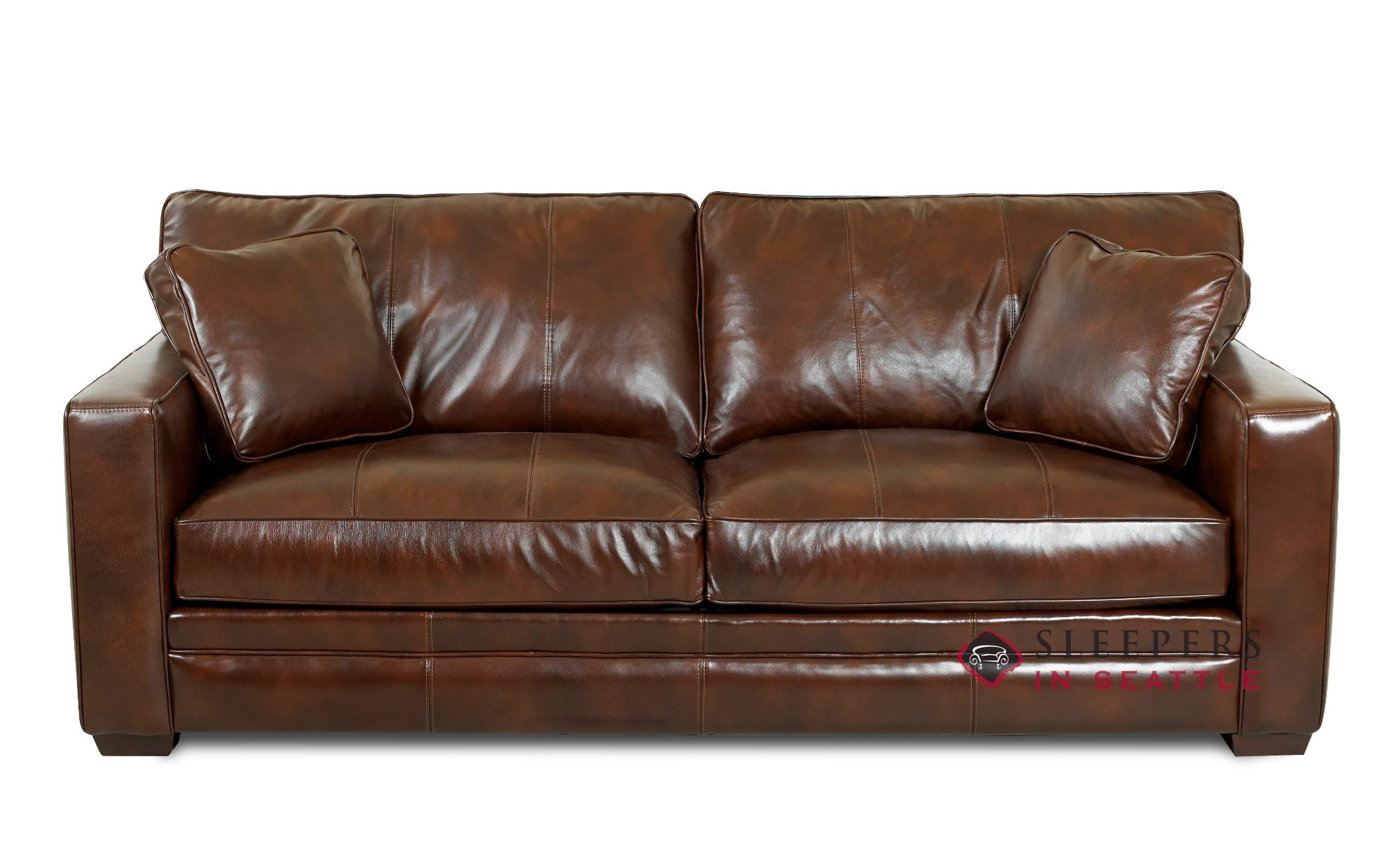 Customize And Personalize Chandler Queen Leather Sofa By Savvy  ~ Queen Sleeper Sofa Leather