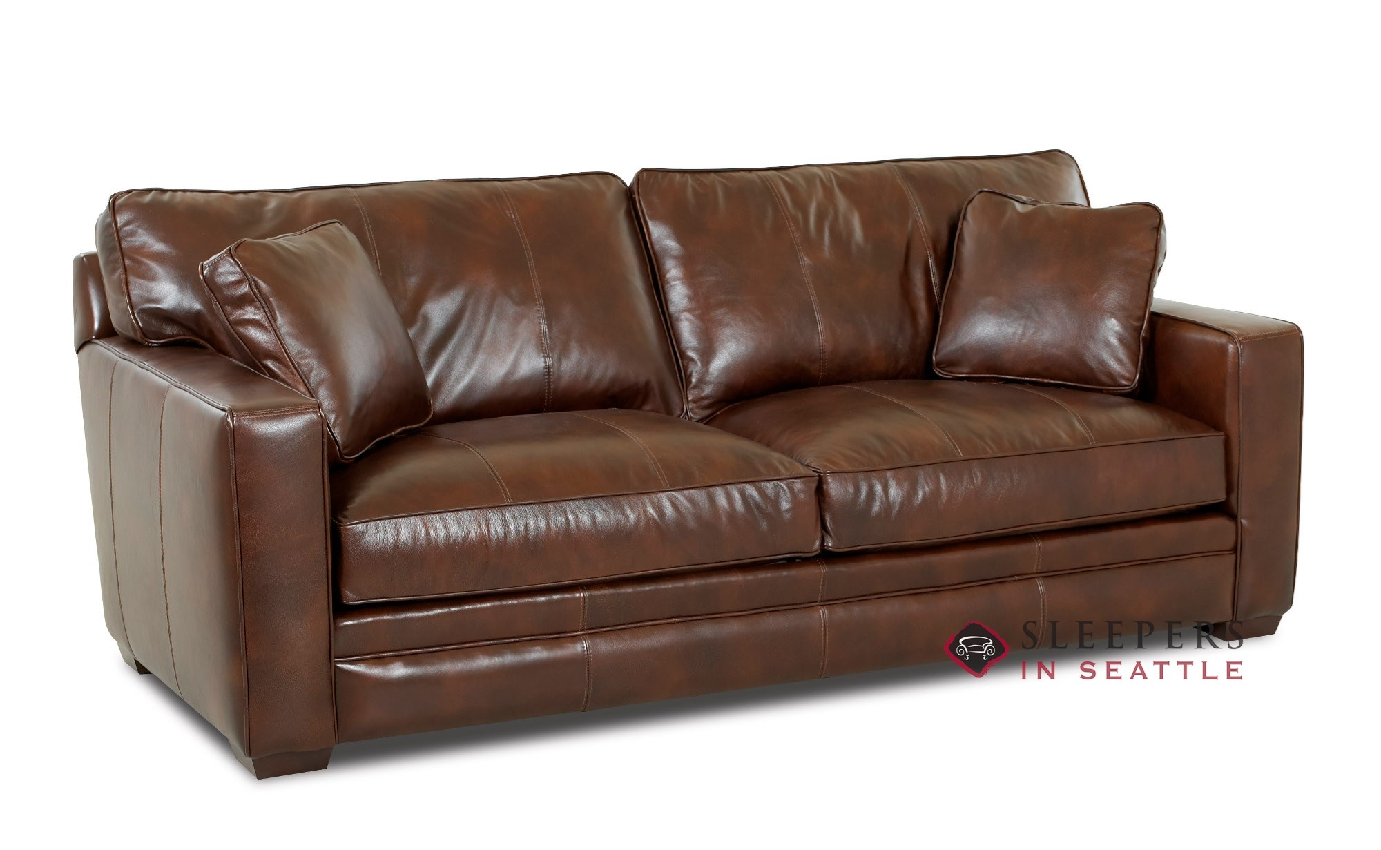customize and personalize chandler queen leather sofa by savvy
