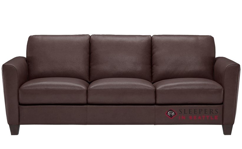 QuickShip Liro B592 Queen Leather Sofa by Natuzzi Fast Shipping
