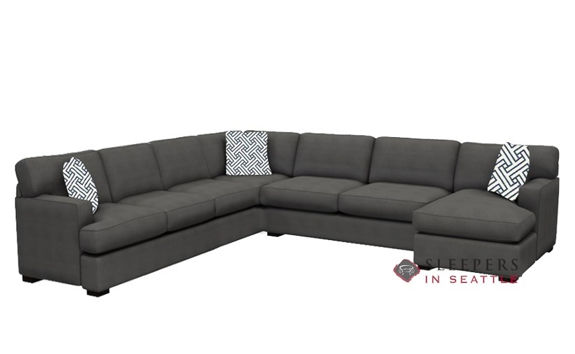 Fantastic Quick Ship 146 True Sectional Fabric Sofa By Stanton Fast Shipping 146 True Sectional Sofa Bed Sleepersinseattle Com Caraccident5 Cool Chair Designs And Ideas Caraccident5Info