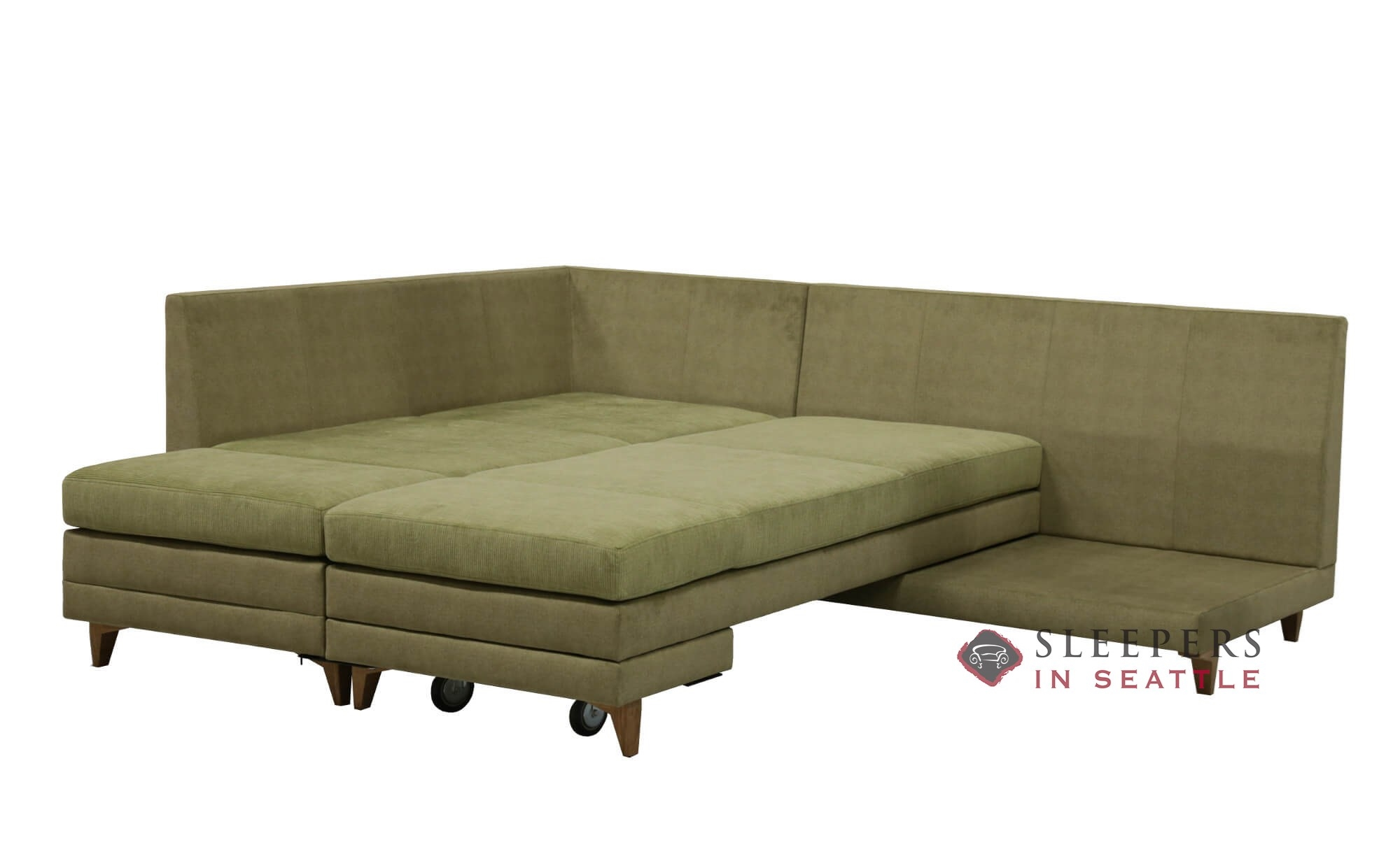 Customize And Personalize Curry Chaise Sectional Fabric