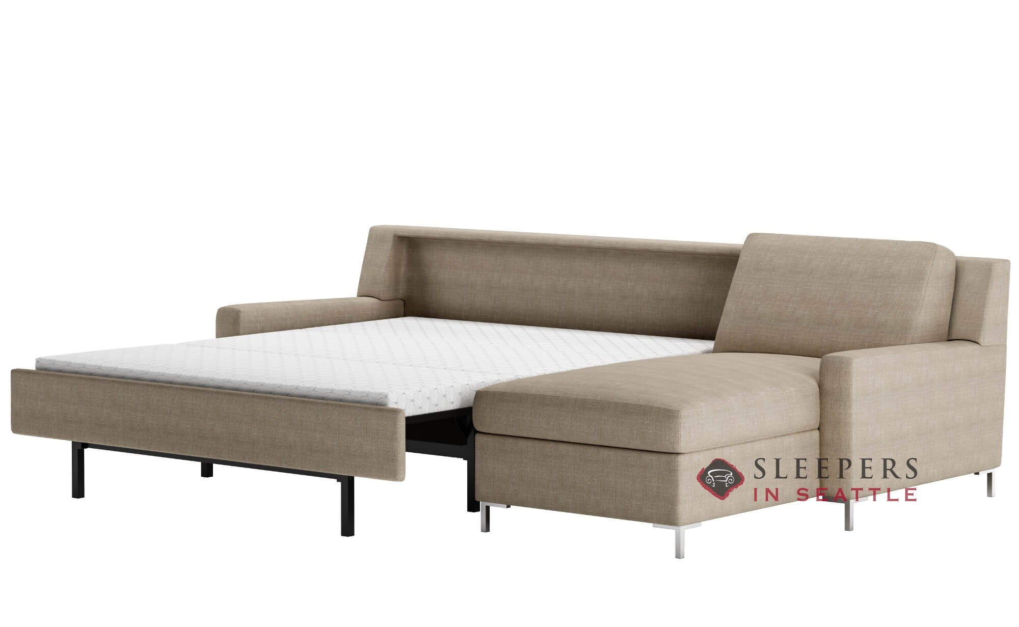 American Leather Bryson Comfort Sleeper Generation Viii Open