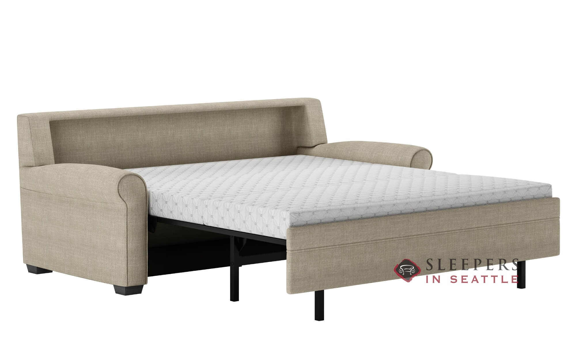 ... American Leather Gaines Comfort Sleeper Open ...