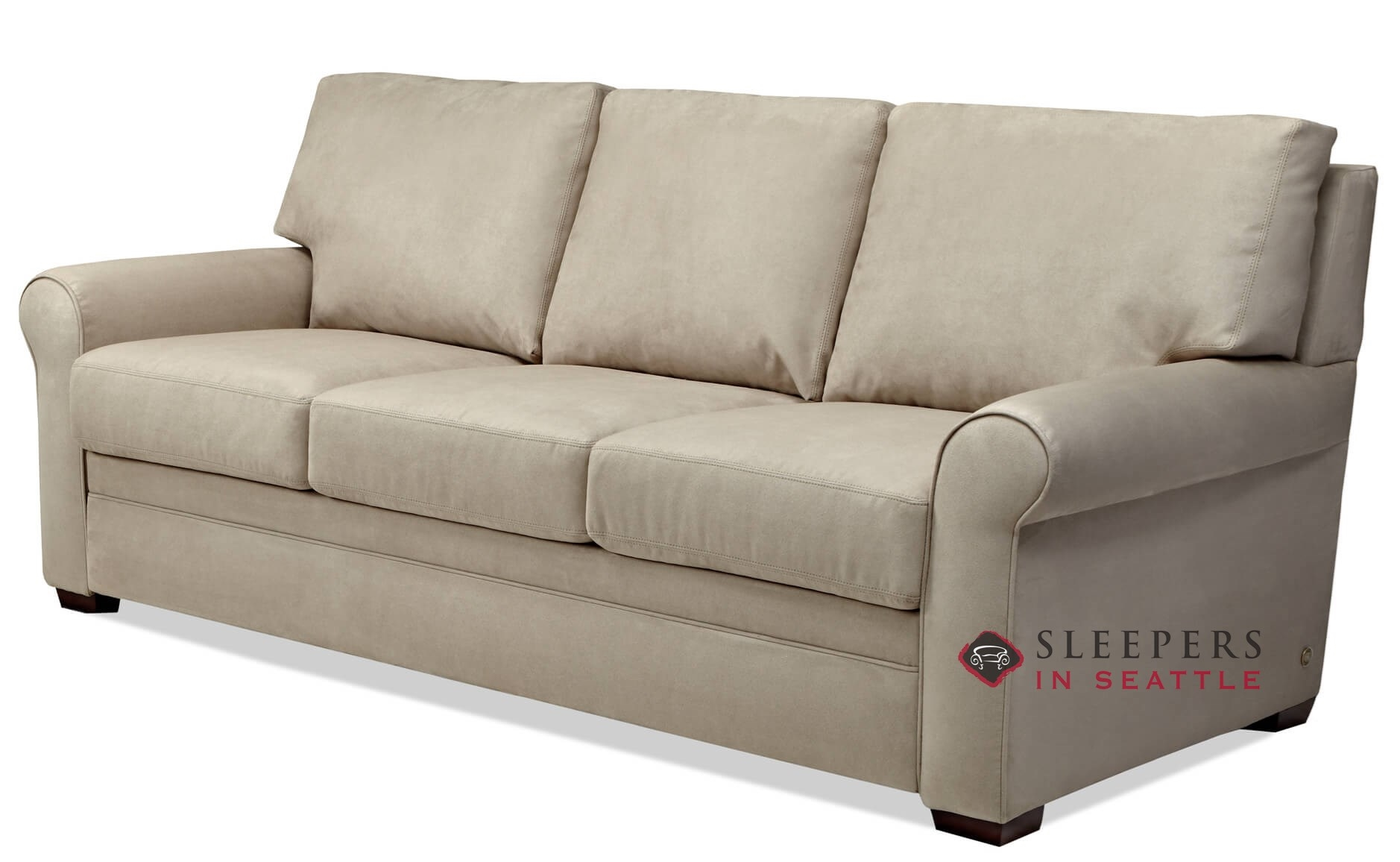 american leather gaines sectional comfort sleeper sideview - American Leather Sleeper Sofa