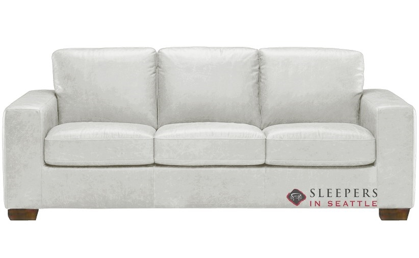 Quick Ship Rubicon B534 Queen Leather Sofa By Natuzzi Fast Shipping Rubicon B534 Queen Sofa Bed Sleepersinseattle Com